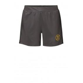 Dameskleding - Shorts / voetbalbroekjes - kopen - Liona Pro Short Antraciet Met Binnenbroekje