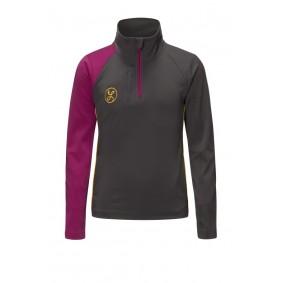 Meisjesvoetbal kleding - Vrijetijdskleding kinderen - kopen - Liona Girls Pro Half Zip Sweatshirt Antraciet