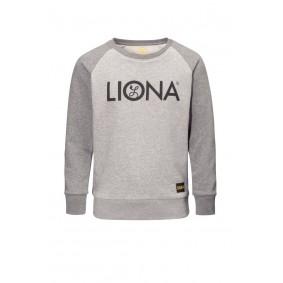 Meisjesvoetbal kleding - Vrijetijdskleding kinderen - Wedstrijd- en training - kopen - Liona Girls Classic Crewneck Grijs