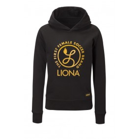 Meisjesvoetbal kleding - Vrijetijdskleding kinderen - kopen - Liona Girls Classic Hoody Zwart