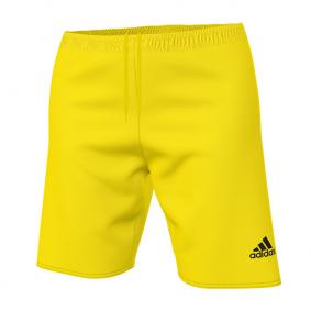 Wedstrijd- en training - Shorts / voetbalbroekjes - kopen - Adidas Parma 16 Short Geel/Wit