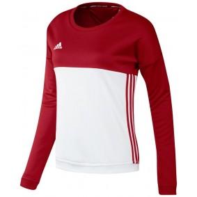 Dameskleding - Vrijetijdskleding - kopen - Adidas T16 Crew Sweat Women Red