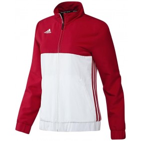 Dameskleding - Trainingsjack - kopen - Adidas T16 Team Jacket Women Red