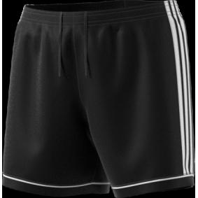 Wedstrijd- en training - Shorts / voetbalbroekjes - kopen - Adidas Squadra 17 Short Zwart/Wit
