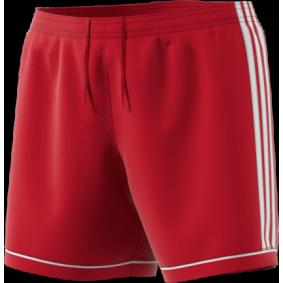 Wedstrijd- en training - Shorts / voetbalbroekjes - kopen - Adidas Squadra 17 Short Rood/Wit