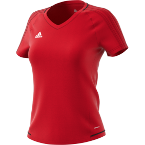 Wedstrijd- en training - Voetbalshirts - kopen - Adidas Tiro 17 Trainingsshirt Rood