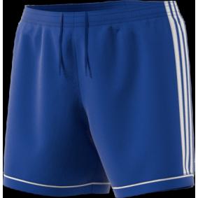 Wedstrijd- en training - Shorts / voetbalbroekjes - kopen - Adidas Squadra 17 Short Blauw/Wit