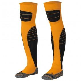 Dameskleding - Voetbalsokken - Keeperskleding - kopen - Stanno High impact goalkeeper sock oranje-zwart