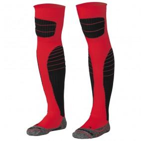 Dameskleding - Voetbalsokken - Keeperskleding - kopen - Stanno High impact goalkeeper sock rood-zwart