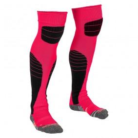Dameskleding - Voetbalsokken - Keeperskleding - kopen - Stanno High impact goalkeeper sock rose-zwart