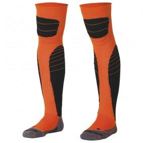 Dameskleding - Voetbalsokken - Keeperskleding - kopen - Stanno High impact goalkeeper sock neon oranje/zwart
