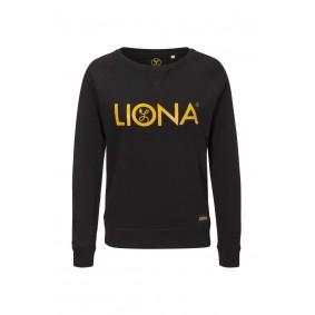 Meisjesvoetbal kleding - Vrijetijdskleding kinderen - Wedstrijd- en training - kopen - Liona Meisjes Classic Crewneck Zwart