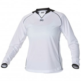 Teamkleding - Dameskleding - Voetbalshirts - kopen - Hummel London Shirt Ladies l.m. Senior Wit / Zwart