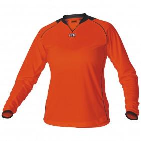 Teamkleding - Dameskleding - Voetbalshirts - kopen - Hummel London Shirt Ladies l.m. Senior Oranje / Zwart