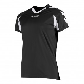 Teamkleding - Dameskleding - Voetbalshirts - kopen - Hummel Everton Shirt Ladies k.m. Zwart / Wit