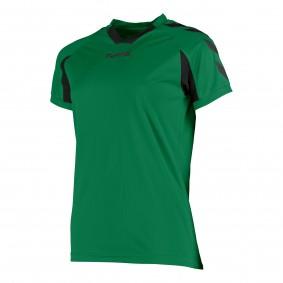 Teamkleding - Dameskleding - Voetbalshirts - kopen - Hummel Everton Shirt Ladies k.m. Groen / Zwart