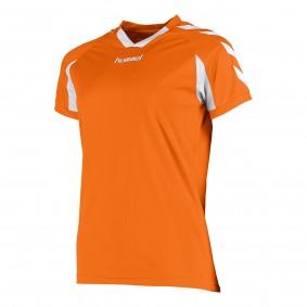 Teamkleding - Dameskleding - Voetbalshirts - kopen - Hummel Everton Shirt Ladies k.m. Oranje / Wit