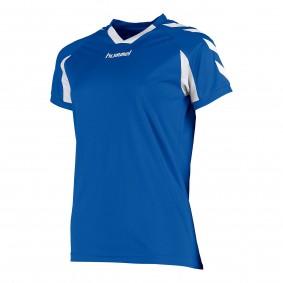 Teamkleding - Dameskleding - Voetbalshirts - kopen - Hummel Everton Shirt Ladies k.m. Blauw / Wit