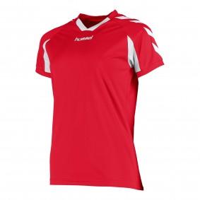 Teamkleding - Dameskleding - Voetbalshirts - kopen - Hummel Everton Shirt Ladies k.m. Rood / Wit