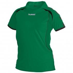 Teamkleding - Dameskleding - Voetbalshirts - kopen - Hummel Brasil Shirt Ladies k.m. Groen / Zwart