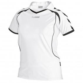 Teamkleding - Dameskleding - Voetbalshirts - kopen - Hummel Brasil Shirt Ladies k.m. Wit / Zwart