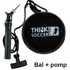 Accessoires - Voetballen - kopen - TSS bal Black incl. ballenpomp