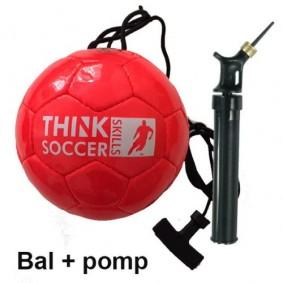 Accessoires - Voetballen - kopen - TSS BAL RED INCL. BALLENPOMP