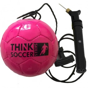 Accessoires - Voetballen - kopen - TSS bal Pink incl. ballenpomp
