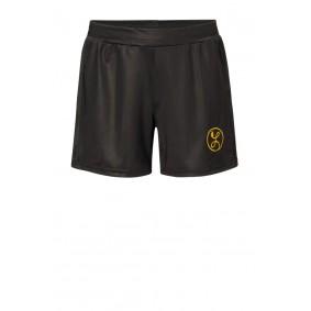 Meisjesvoetbal kleding - Wedstrijd- en training - kopen - Liona Meisjes Pro Short Zwart