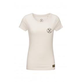 Dameskleding - Voetbalshirts - kopen - Liona Logo T-Shirt Vintage Wit