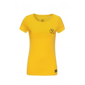 Dameskleding - Voetbalshirts -  kopen - Liona Logo T-Shirt Geel