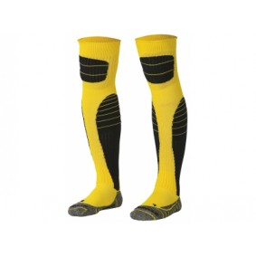 Dameskleding - Voetbalsokken - Keeperskleding - kopen - Stanno High impact keepers sock geel/zwart