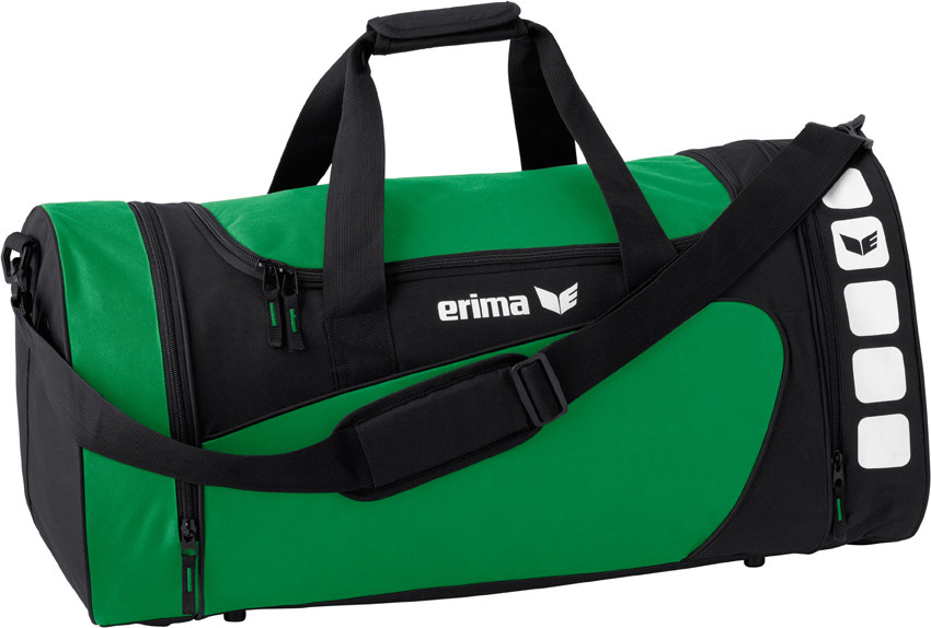 Erima Club 5 sports bag Donkegroen