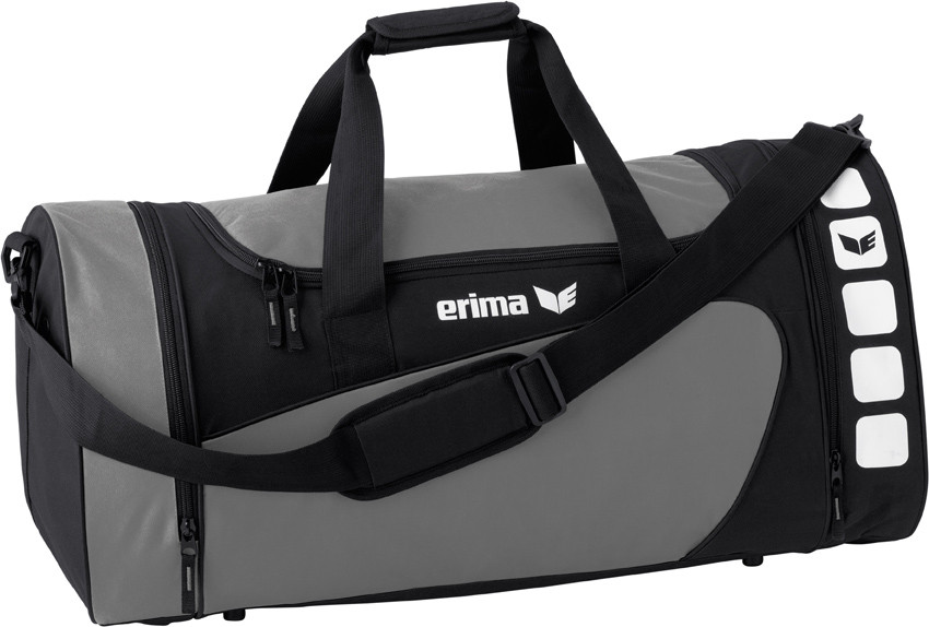 Erima Club 5 sports bag Grijs