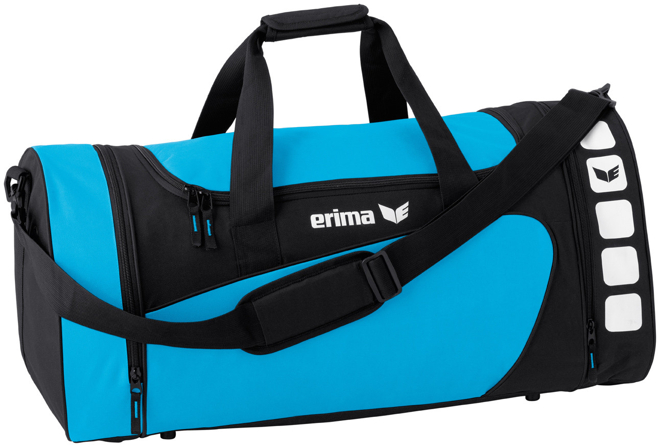 Erima Club 5 sports bag Curacao Blauw