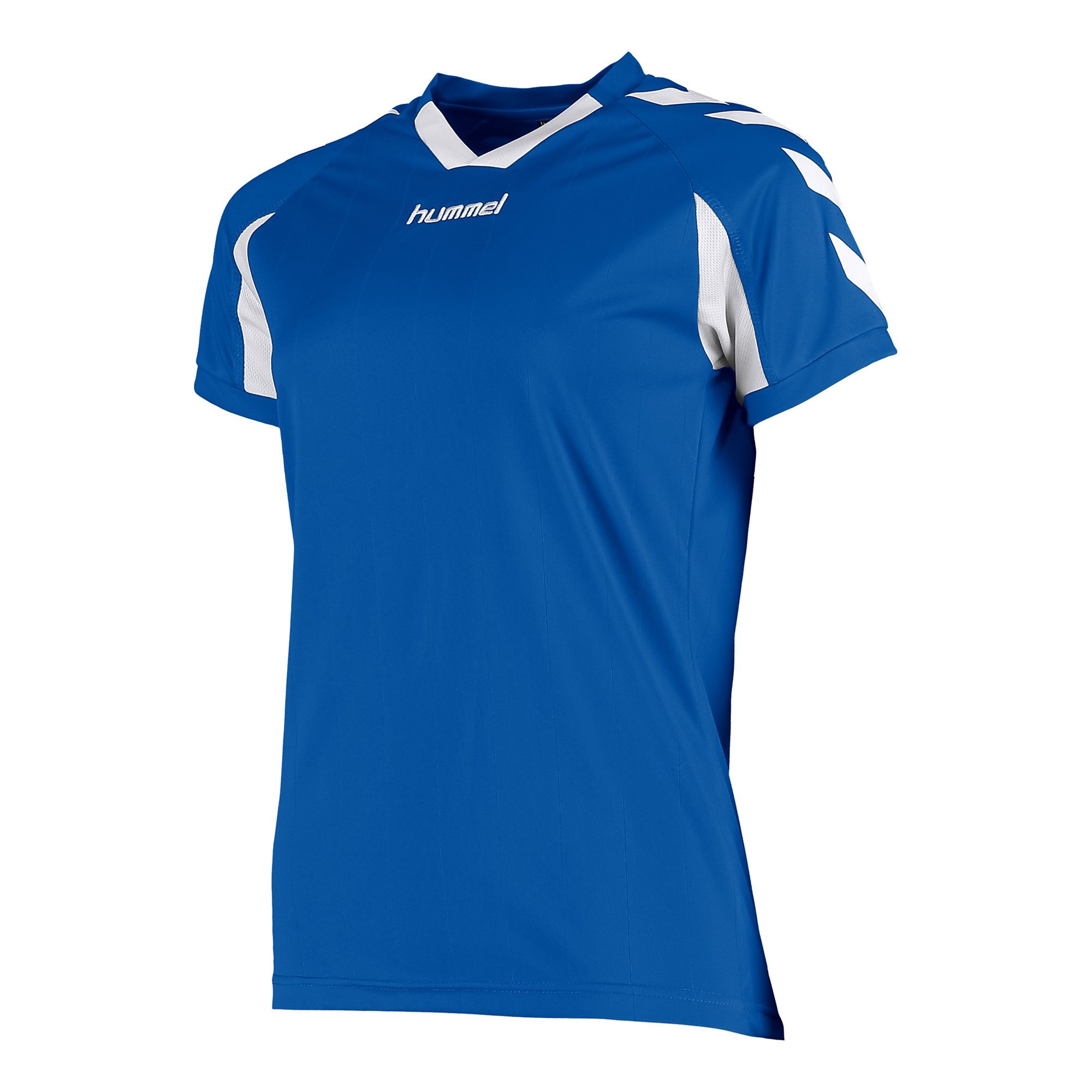 Hummel Everton Shirt Ladies k.m. Blauw - Wit