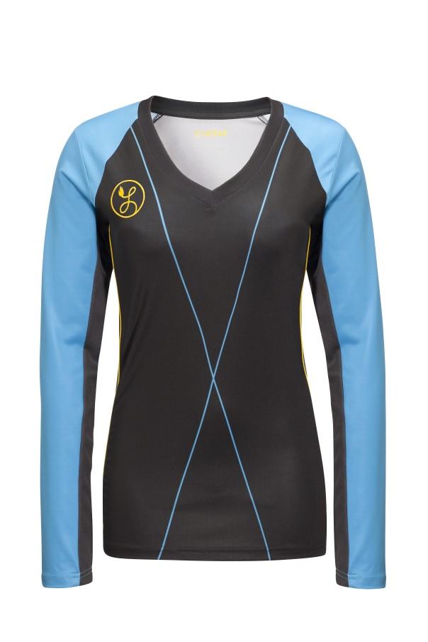 Liona meisjes Pro Keeper Shirt Zwart